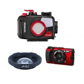 Pack caisson PT059, Olympus TG6 et grand-angle UAL05