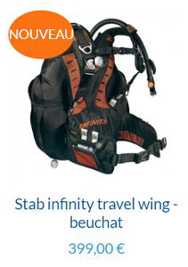 Stab Infinity Travel Wing Beuchat