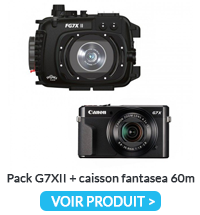 Pack G7xii Caisson Fantasea 60m